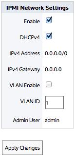 IPMI Configuration