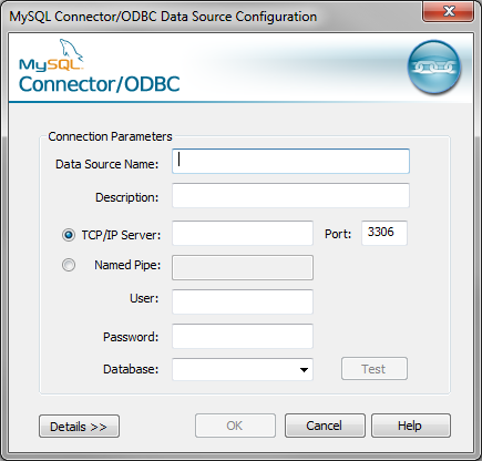Create ODBC Data Source on Windows 7