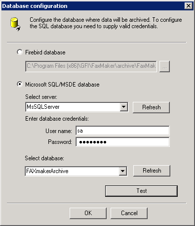 Firebird file is not a valid database
