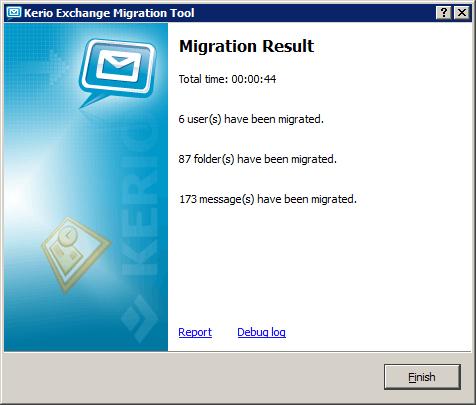 Kerio Exchange Migration Tool