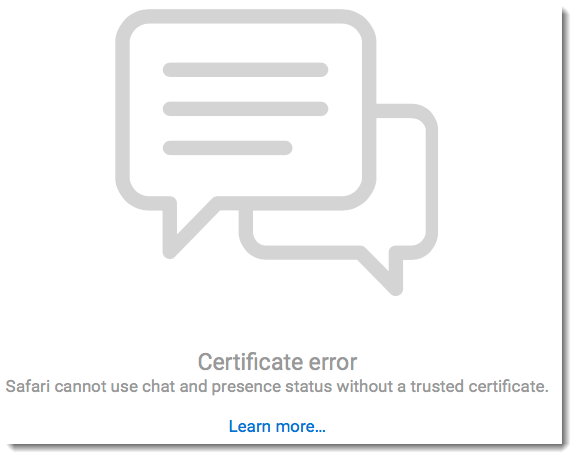 Making SSL certificates trusted in Safari