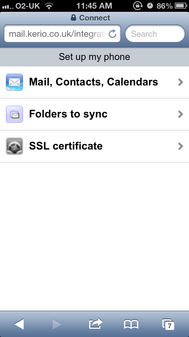 How to configure shared or public folders to your iPhone/iPad via an