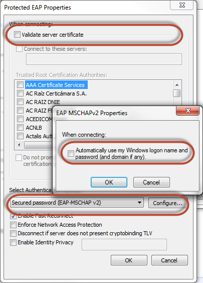 Using RADIUS server in Kerio Control