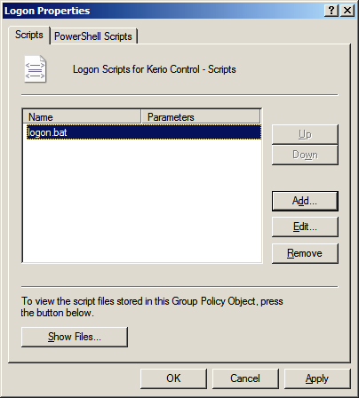 How to use a Windows Active Directory Group Policy Object