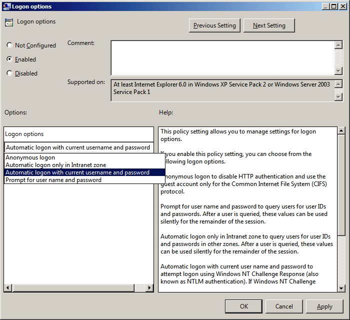 How to use a Windows Active Directory Group Policy Object (GPO) to