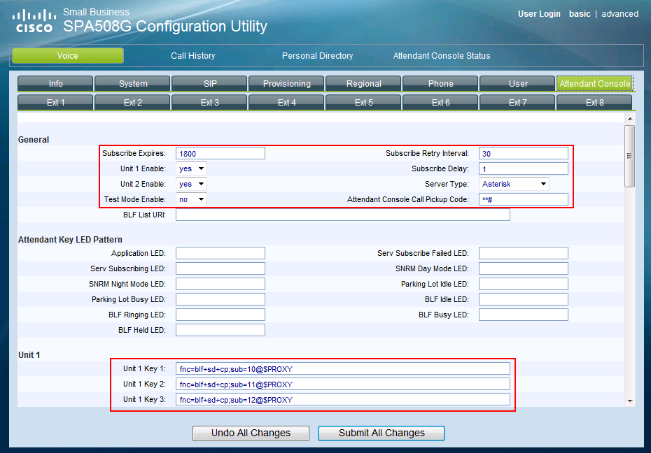 How to configure Busy Lamp Field (BLF) on Cisco SPA500S