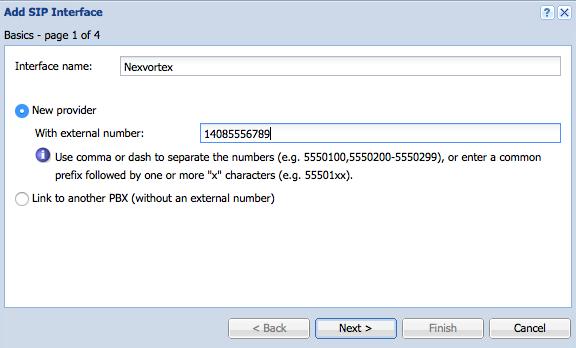 Configuring Kerio Operator with NexVortex