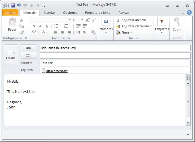 Faxen Mit Outlook